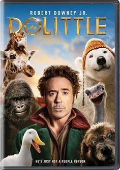 Confessions of a Frugal Mind: Dolittle Starring Robert Downey Jr. on DVD $6.00 Family Movies, Downey Junior, Robert Downey Jr, Confessions, Movie Stars, Rober Downey Jr