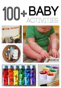 100 und mehr DIY Spiele und Aktivitäten für Babys