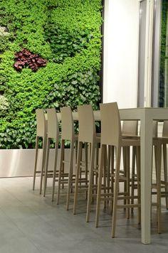Crassevig Anna #chair and #stool #design by Palomba Serafini Associati @ Luzerner Kantonspital, Switzerland
