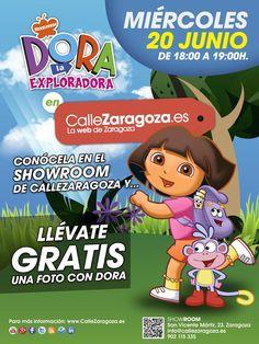 Dora Dora La Exploradoraaa ♪♫ Este Miércoles 20 hazte una foto con ella ;)