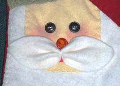 Create Your Own Snowman and Santa Potholders - Matt and Shari
