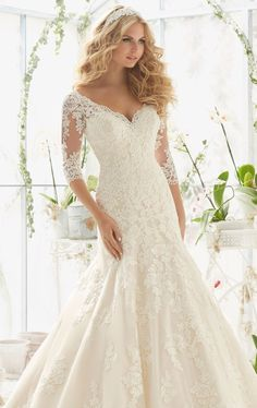 Mori Lee 2812 by Bridal by Mori Lee