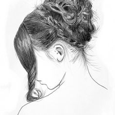 Loui jover how to draw hair, pretty art, pencil art, pencil drawings, art s Illustrations, Illustration Art, Saatchi Online, How To Draw Hair, Pretty Art, Pencil Art, Pencil Drawings, Crayon, Looks Cool