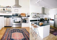Kitchen Rug Ideas for Kitchen!