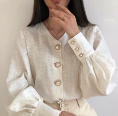 S identifier la mode. Classy Outfits, Vintage Outfits, Casual Outfits, Cute Outfits, Vintage Fashion, Summer Outfits, Looks Street Style, Looks Style, Muslim Fashion
