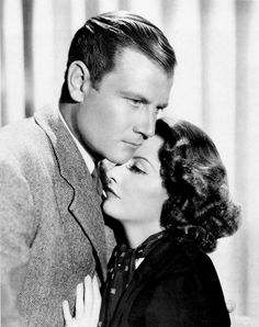 Joel McCrea and Barbara Stanwyck for Internes Can't Take Money (1937)
