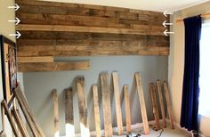 Pallet panelling