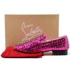 christian-louboutin-rollerboy-spikes-glitter-mens-flat-shoes-pink-3.jpg (739×739)