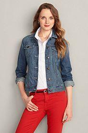 Classic Jean Jacket at Eddie Bauer. #womensfashion2013 #basics
