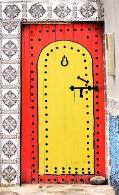 Faux clavos and hardware!  Agadir, Morocco