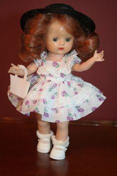 Vintage 1953-54 Nancy Ann Storybook Walker Doll Muffie #708 MINT Rare #NancyAnn