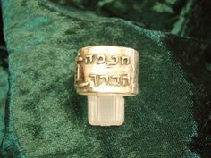 The Ring of Tao Gold - A Strong Symbol of Modesty and Compassion.  $1,596