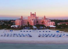 Loews Don Cesar Hotel Wedding Venue on St. Pete Beach