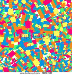 Seamless pattern consisting of colorful chaotic squares.For Cover Report Annual Brochure, Flyer, Poster. Editable layout for presentation, website and print, magazine cover.