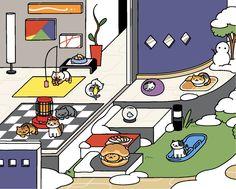 036f20ffa683 17 Best Cats-Art Neko Atsume images