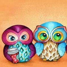 Rebeca de Punto FÁCIL [ Tutorial Paso a Paso y Patrón GRATIS ] Baby Knitting Patterns, Baby Cardigan Knitting Pattern, Baby Hats Knitting, Knitted Hats, Pull Bebe, Paper Owls, Beautiful Owl, Baby Sweaters, Painted Rocks