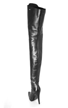 Sexy Over The Knee Boots Women Stiletto High Heel Back Zip Clubwear Riding Boots High Heels Boots, Knee High Heels, High Leather Boots, Sexy Boots, Black High Heels, Black Shoes, Knee Boots, Shoes Heels, Black Thigh Boots
