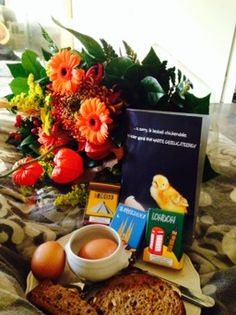 From hubby on my birthday 2014 - breakfast in bed
