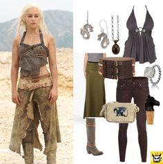 Modern Khalessi style, à la Game of Thrones' Daenerys Targaryen.