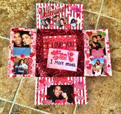 Valentine's themed care package #MilitaryCarePackage #Deployment