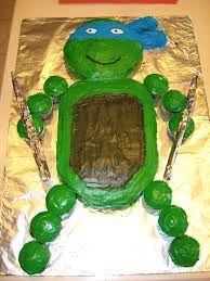 ninja turtle cupcakes - Google Search @Christina Childress & Dezuanni Zebelean-Castanedo