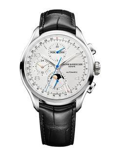 Baume & Mercier Clifton Chronograph Complete Calendar - front