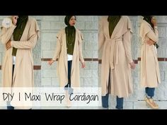DIY | How to Make a Cardigan | PATTERN INCLUDED - YouTube