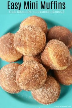 If you love old fashioned sugary donuts but hate all the work, you will love Cinnamon Sugar Mini Donut Muffins. Learn how to make easy Mini Donut Muffins. Donut Muffins, Mini Muffins, Easy Breakfast Muffins, Snickerdoodle Muffins, Coffee Cake Muffins, Mini Donuts, Doughnuts, Muffin Tin Recipes, Baking Recipes