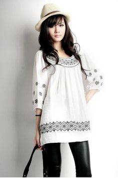 Resultados de la Búsqueda de imágenes de Google de http://img2.mlstatic.com/suku-70578-blusa-decorada-holgada-manga-moda-asia-519_MLM-O-70215238_3601.jpg