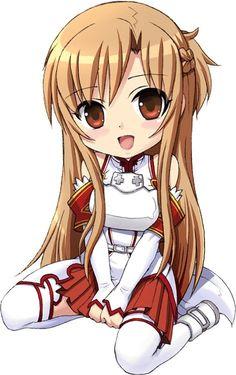 SAO Asuna Chibi! (Sword Art Online!)