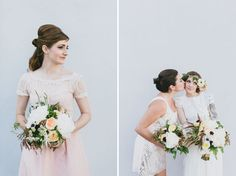 60's-Inspired Smog Shoppe Wedding: Shannon + Nick | Green Wedding Shoes Wedding Blog | Wedding Trends for Stylish + Creative Brides