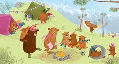 Bears Go Camping. Ada Grey