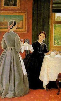 George Dunlop Leslie - Afternoon Tea