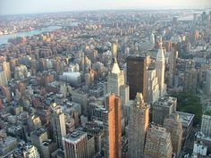 View from Empire State Building, New York City