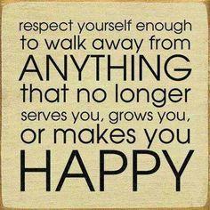Walk away...