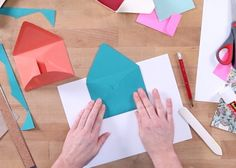Learn how to make customized paper envelopes with Courtney. You'll begin by making a cardstock template so you can create multiple envelopes in various sizes. Courtney explains which types of papers work best for envelopes and shares how to make a decorative liner. With a few folds and a couple...
