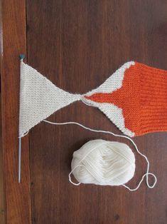 Baby Cardigan Knitting Pattern Free, Easy Scarf Knitting Patterns, Animal Knitting Patterns, Crochet Patterns, Lidia Crochet Tricot, Fox Scarf, Fox Pattern, Granny Square Crochet Pattern, Knitting Projects