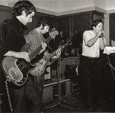 Paul Butterfield recording with John Mayall's Bluesbreakers in England, late 1966