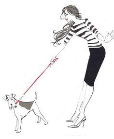 Jacqueline Bissett Fashion Illustrator