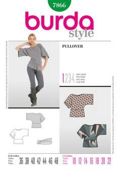 Simplicity Creative Group - Burda Style, Pullover