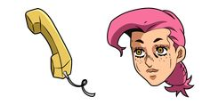 Vinegar Doppio is a character in Golden Wind, the fifth part of the manga JoJo's Bizarre Adventure, is the younger version of the boss, he can turning objects into phones. The custom cursor from JoJo's Bizarre Adventure with Vinegar Doppio and Phone! Jojo's Bizarre Adventure, Yandex, Chrome Web, Manga, Jojo Bizarre, Vinegar, Disney Characters, Fictional Characters, Turning