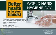 Dermatology & Cosmetic Laser Center  Setting the example for good hand hygiene.(631) 417-3300  #DermatologistHuntington #WorldHandHygieneDay