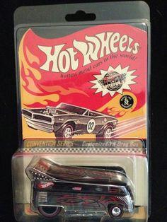HW HOT WHEELS 10 PHILS GARAGE #30 VW VOLKSWAGEN T1 DRAG BUS HOTWHEELS VHTF RARE