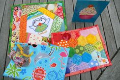 Scrappy mug rugs received | The gorgeous package that arrive… | Flickr