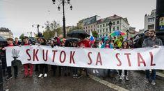 Ministri o študentských pochodoch
