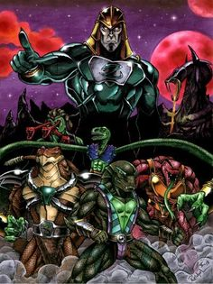The Snakemen of  'Masters of the Universe'.  They made Skeletor look like a cartoon mouse.