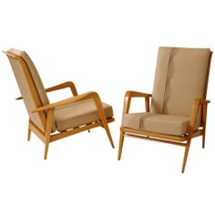 Pair of Armchairs by Etienne Henri Martin thumbnail 1