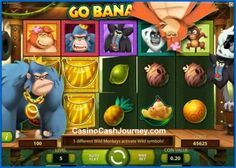 Go Bananas! is a 5-reel and 20-payline video slot with a jungle and monkey theme. The new Net Entertainment slot features wilds, free spins and more. Read more at http://blog.casinocashjourney.com/2014/10/07/netent-go-bananas-slot/