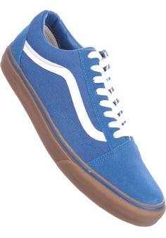 Vans Old-Skool, Shoe-Men, blue-gum #ShoeMen #MenClothing #titus #titusskateshop