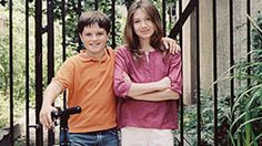 This is how I remember the kid playing Peeta Melark in the Hunger games. Little Manhattan is such a cute movie